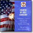 Fourth of July Concert